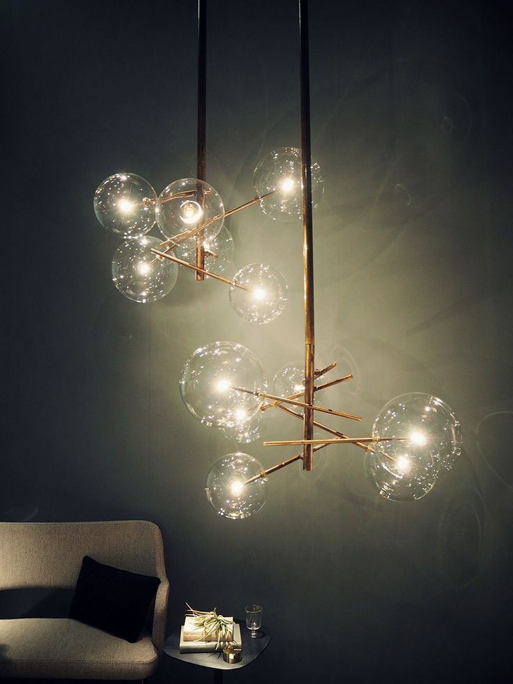 Love this lamp!! The Bolle lamp by Massimo Castagne, Ingrid Holm   Stylista.no