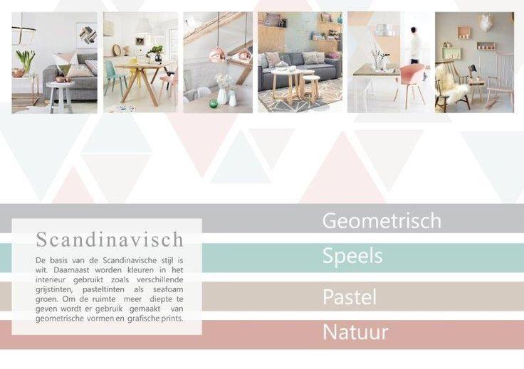 De basis van de scandinavische stijl is wit daarnaast worden kleuren in het interieur gebruikt - Scandinavische kleur ...