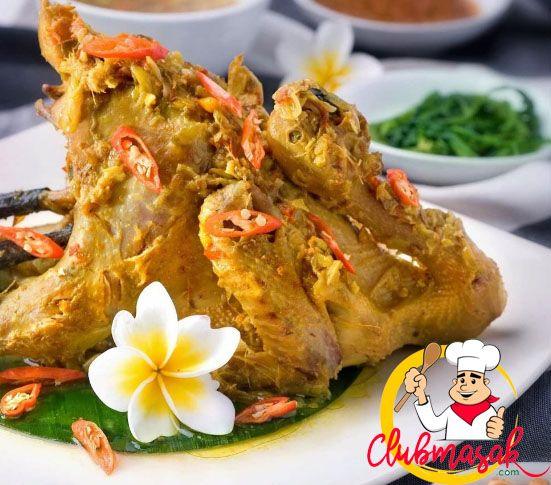 Resep Ayam Betutu, Resep Masakan Serba Praktis, Club Masak
