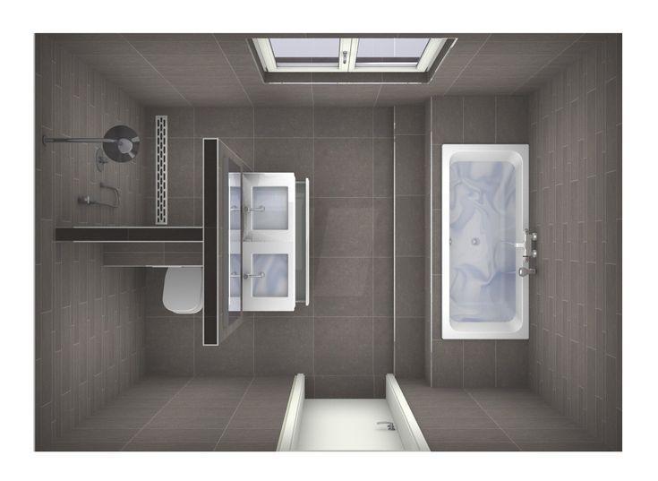 Mögliche Raumaufteilung Badezimmer #badezimmer #bathroomdesignideas #mogliche #raumaufteilung