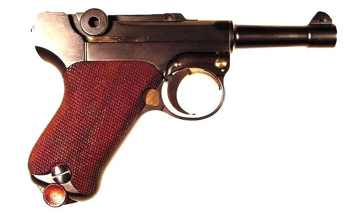 """cerebralzero: """" .32 ACP Baby Luger made by Mike Krause """""""