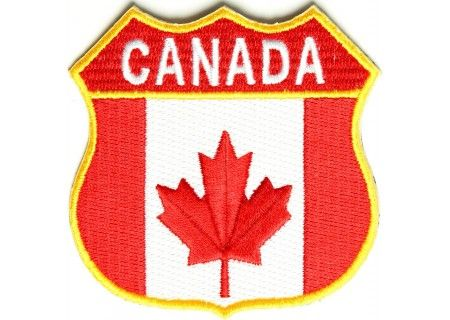 Canadian shield patch - For motorcycle riders