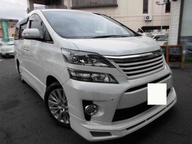 Toyota vellfire 2.4Z 2012     ANH20W    FOB Price JPY:3360000