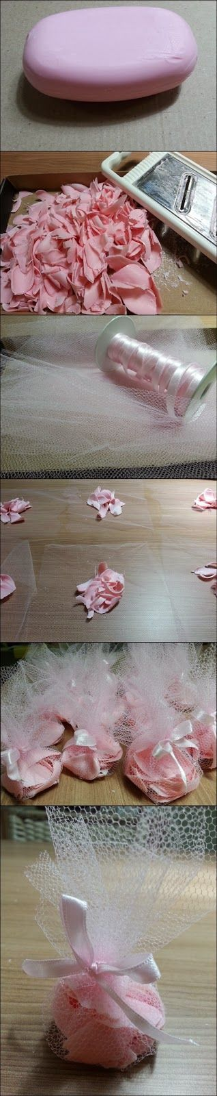 Perfumed sachets for your drawers  in step by step