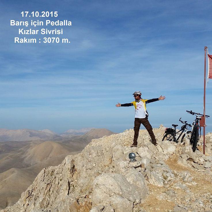 Barış için Pedalla Barış Bisiklet Pedal  Peace