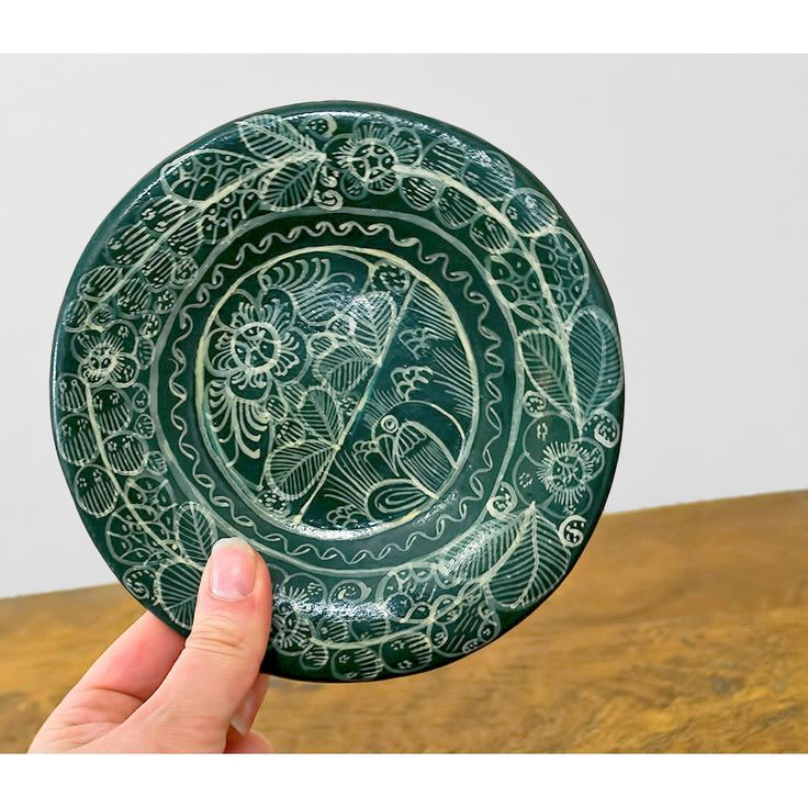 SALE / Wall Hanging / Mexican Tonala Pottery by recyclinghistory #vintage #etsy #wallhanging #plate #ethnic #mexican #decor