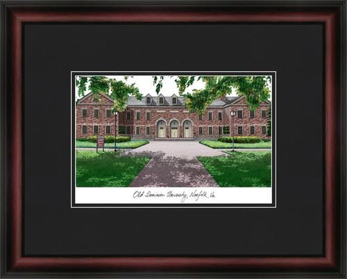 Old Dominion University Framed & Matted Campus Picture