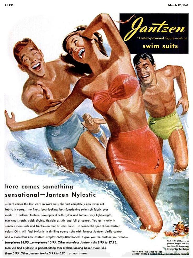 Make Waves Swimwear Ads