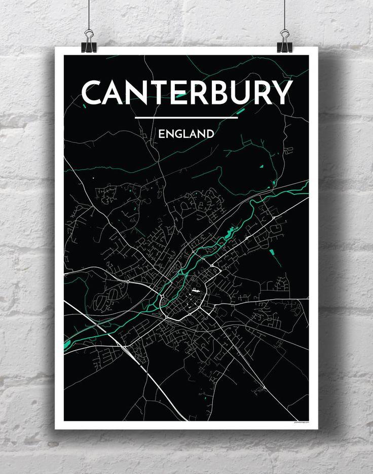 Canterbury City Map