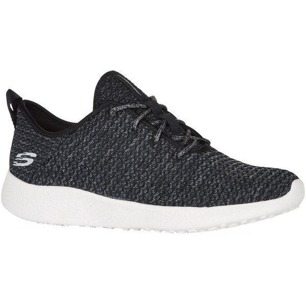 Skechers Burst City Scene Sneakers (€73) ❤ liked on Polyvore featuring shoes, sneakers, woven shoes, flexible shoes, grip shoes, grip trainer and skechers footwear