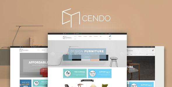Cendo - Responsive Opencart Furniture Theme