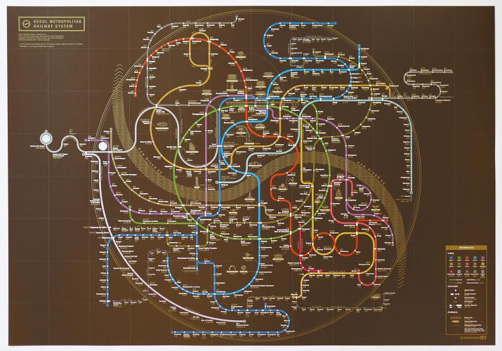 3 | Subway Maps Designed To Reflect A City's Soul | Co.Design | business + design