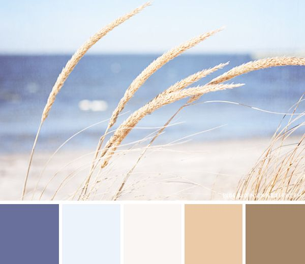 Color Palette – At the Beach — Bettinas Blog - Something handmade