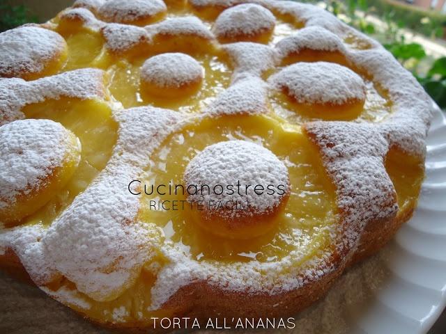 Cucinanostress : TORTA ALL'ANANAS