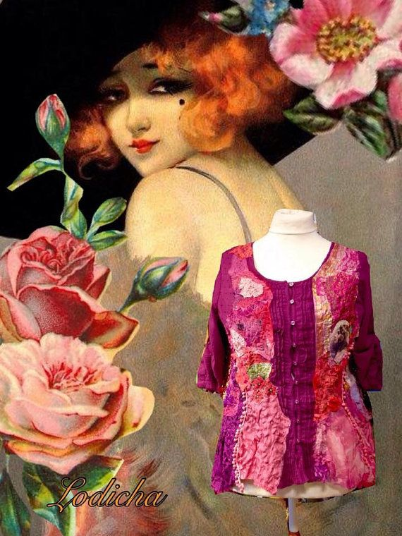 Fantasy Blouse  divine beauty made of existing by lodicha on Etsy