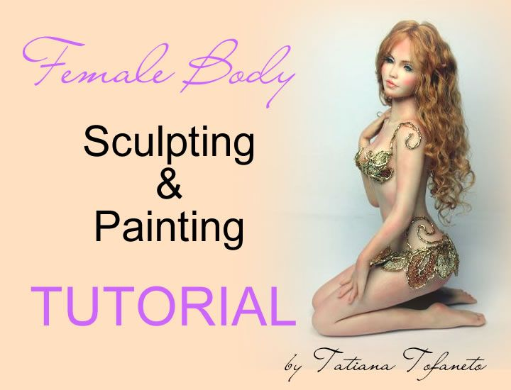 Sculpting and painting Art Doll Tutorials - Doll Essence - English
