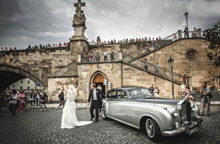 Prague Wedding Photography Charles Bridge