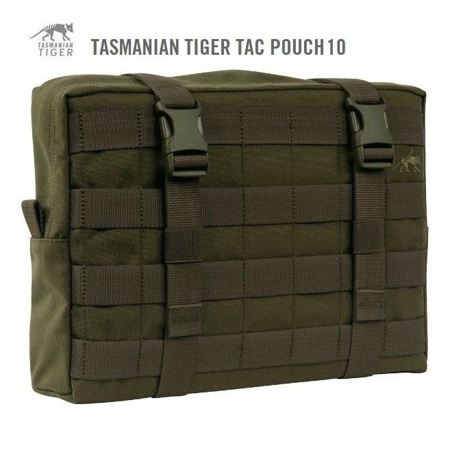 TASMANIAN TIGER POUCH 10 OLIVE - 7573