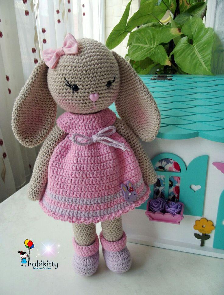Amigurumi baby bunny @hobikitty