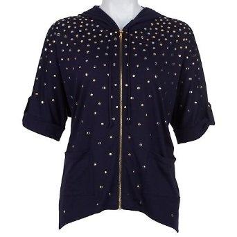Misses Josephine Studio Batik Vibe Studded Jacket