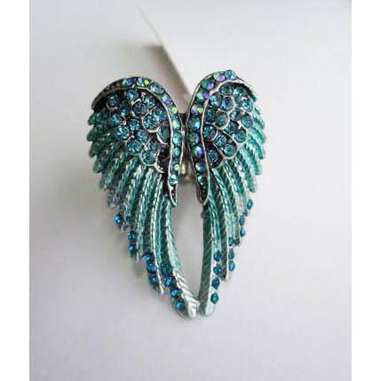 Ring Angel Wings Turquoise