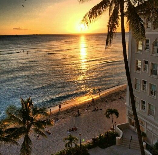 Moana Surfrider Hotel, Hawaii