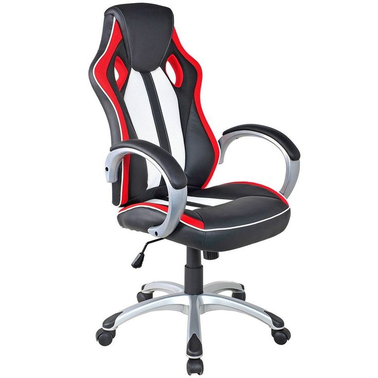 High Back Ergonomic Racing Style Gaming Chair Bucket Seat Office Desk Chair  #Giantex #ExecutiveManagerialChair