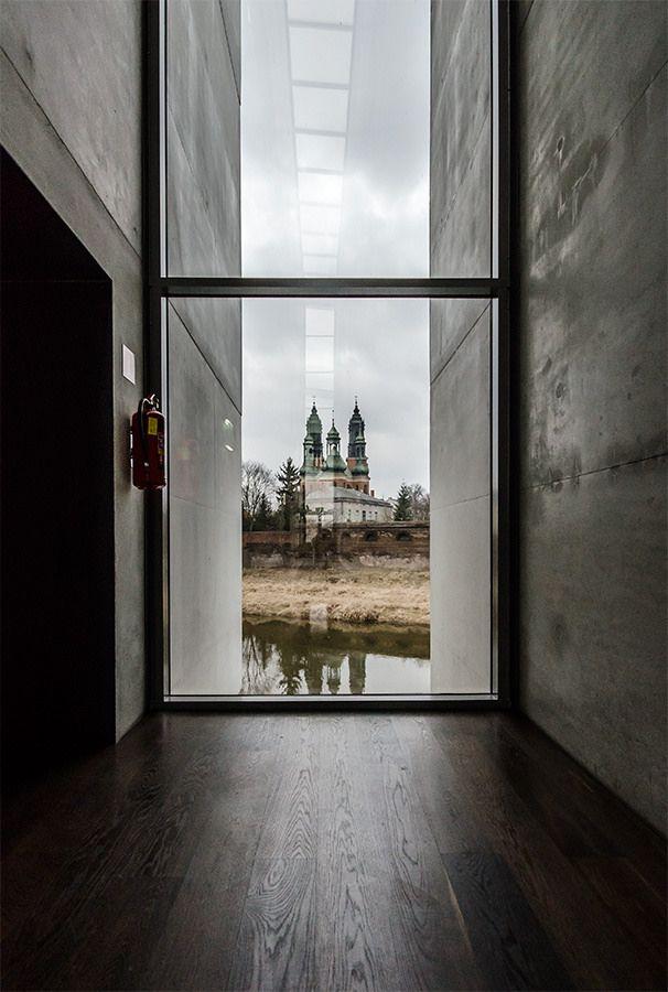 Interaktywne Centrum Historii Ostrowa Tumskiego w Poznaniu. Interactive History Centre of Cathedral Island in Poznan.