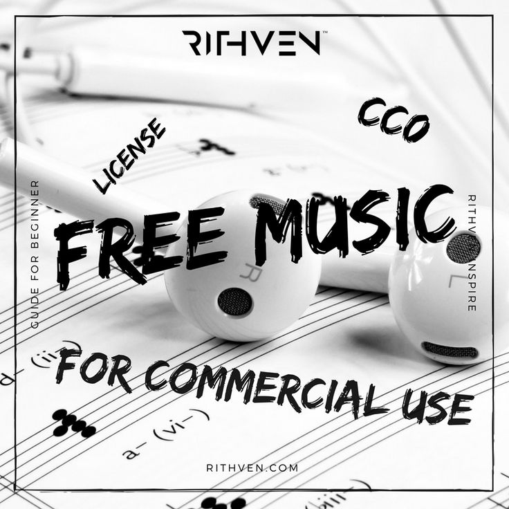 License free music for commercial use – truly free CC0 music