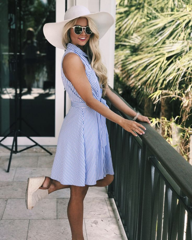 Preppy southern summer style derby outfit inspo from The Pink Lily Boutique! Instagram: @SheaLeighMills