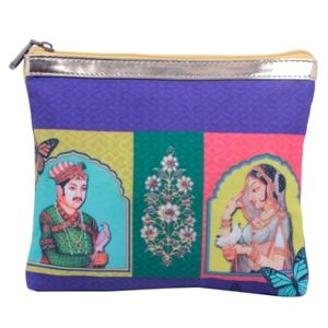 Bejeweled Collage Print #Pouch #Bags #Fashion #Accessories