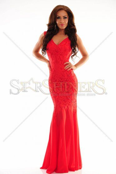 LaDonna Dreamlike Star Red Dress