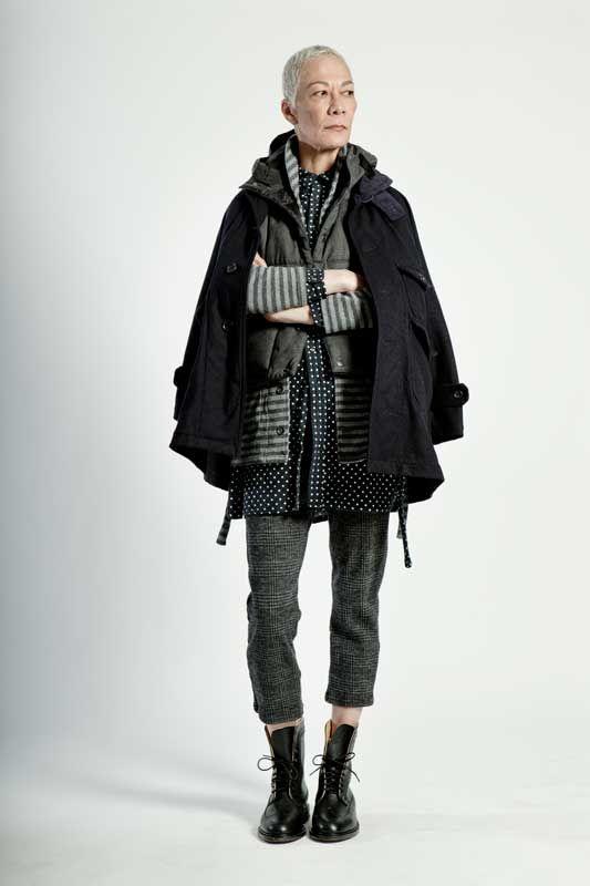 Engineered Garments. This is fierce. SHE is fierce  0aa52e029421