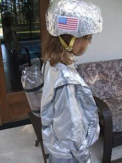 Astronaut Helmet Idea