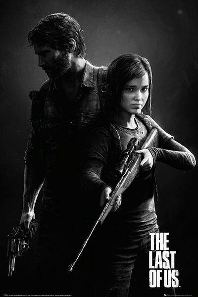 Póster Joel y Ellie. The Last Of Us Póster con la imagen de los protagonistas Joel y Ellie del popular videojuego The Last of Us.