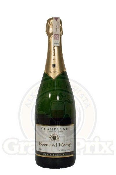 Alkoholeswiata.com / PLATFORMA INTERNETOWA Z ALKOHOLEM Szampan Bernard Remy Carte Blanche Brut 0,75L - REZERWUJ alkohol w alkoholeswiata.com