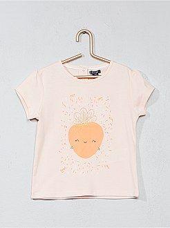 65793f5da Niña 0-36 meses - Camiseta con estampado de fantasía - Kiabi