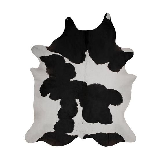 Amazing Black And White Cowhide Rug Cow Skin Leather Carpet Etsy In 2020 Cow Hide Rug White Cowhide Rug Cow Skin Leather