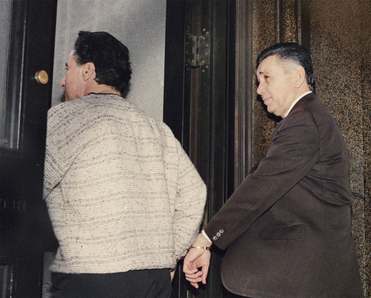 """Former Philly Mob Boss """"Little Nicky"""" Scarfo Dies at 87 #philly #lawyer http://maryland.remmont.com/former-philly-mob-boss-little-nicky-scarfo-dies-at-87-philly-lawyer/  # Former Philly Mob Boss """"Little Nicky"""" Scarfo Dies at 87 Nicodemo """"""""Little Nicky"""""""" Scarfo is led from Philadelphia Common Pleas Court on April 6, 1989, after being sentenced to life in prison. (AP Photo/Charles Krupa) Notoriously violent Philly mob boss Nicodemo Scarfo – also known as Little Nicky – has died at the Federal…"""
