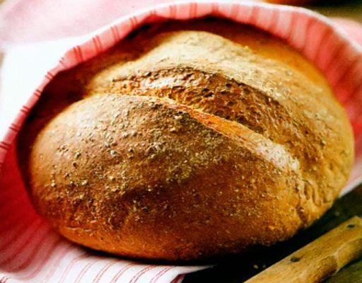 Пшеничный хлеб с льняной мукой