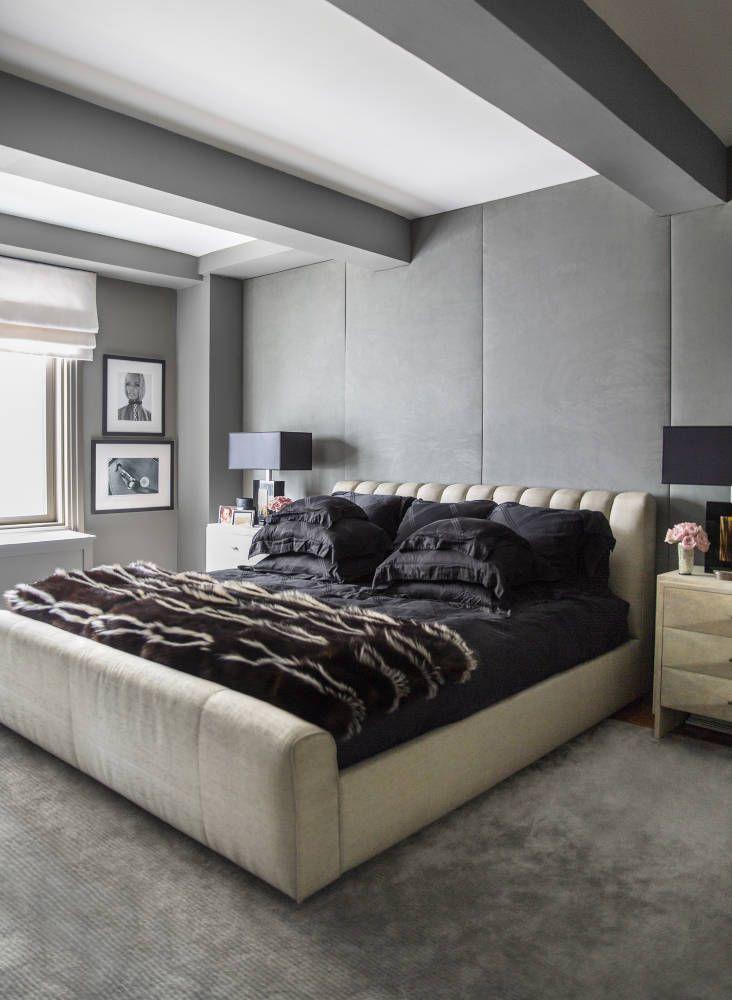 Interiors ryan korbans sexy chic apartment masculine bedroomsmasculine interiorbedroom ideasmodern bedroom decordiy