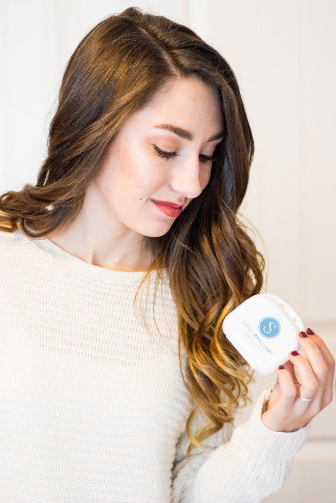 Smile Brilliant at home teeth whitening kit review from Moo's Musing
