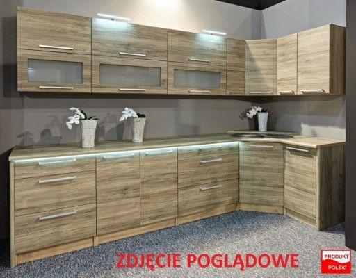 Mebloscianka Sempre Sanremo Jasne Cappucino 3m In 2020 Kitchen Cabinets Home Decor Kitchen