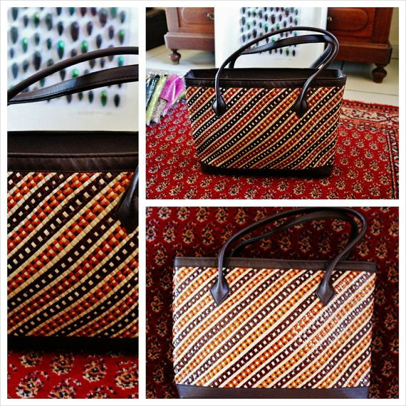 Fashion   Bags and purses : Indonesian woven sea by AimeeBudaya
