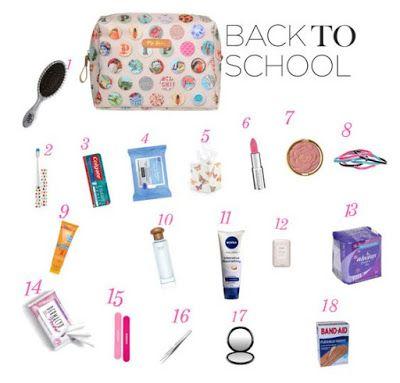 """Que tal montar um """"kit primeiro-socorro"""" para levar á faculdade, estágio, escola, trabalho ???  Montei uma lista de coisas necessárias para qualquer ocasião...espero que gostem beijos...."""