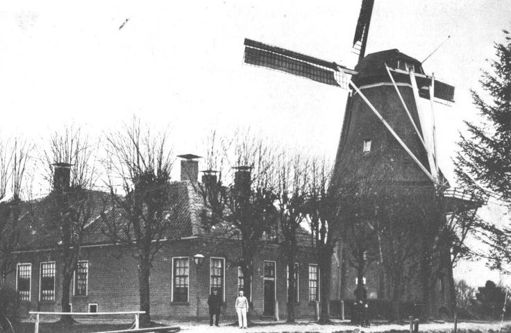Hoogeveen - Old Still Standing Wind Mill...