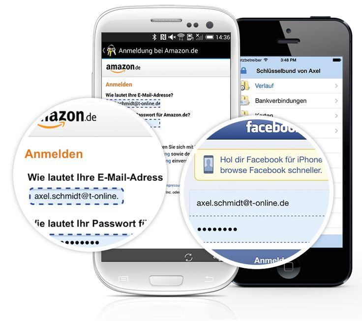 Steganos Passwort Manager 18 - Mobiler Zugriff auf Passwörter auch über OneDrive, Google Drive, Dropbox und MagnetaCLOUD. Kostenlose Apps für iOS und Android ermöglichen unterwegs sicheren Zugriff auf PINs und Passwörter inklusive automatischer Eintragung im In-App Browser. Mobiler Zugriff auf Passwörter auch ohne Nutzung einer Cloud möglich. Mit dem neuen Steganos Passwort Manager 18 verwalten Sie Ihre Passwörter so sicher und komfortabel wie noch nie – auch unterwegs!