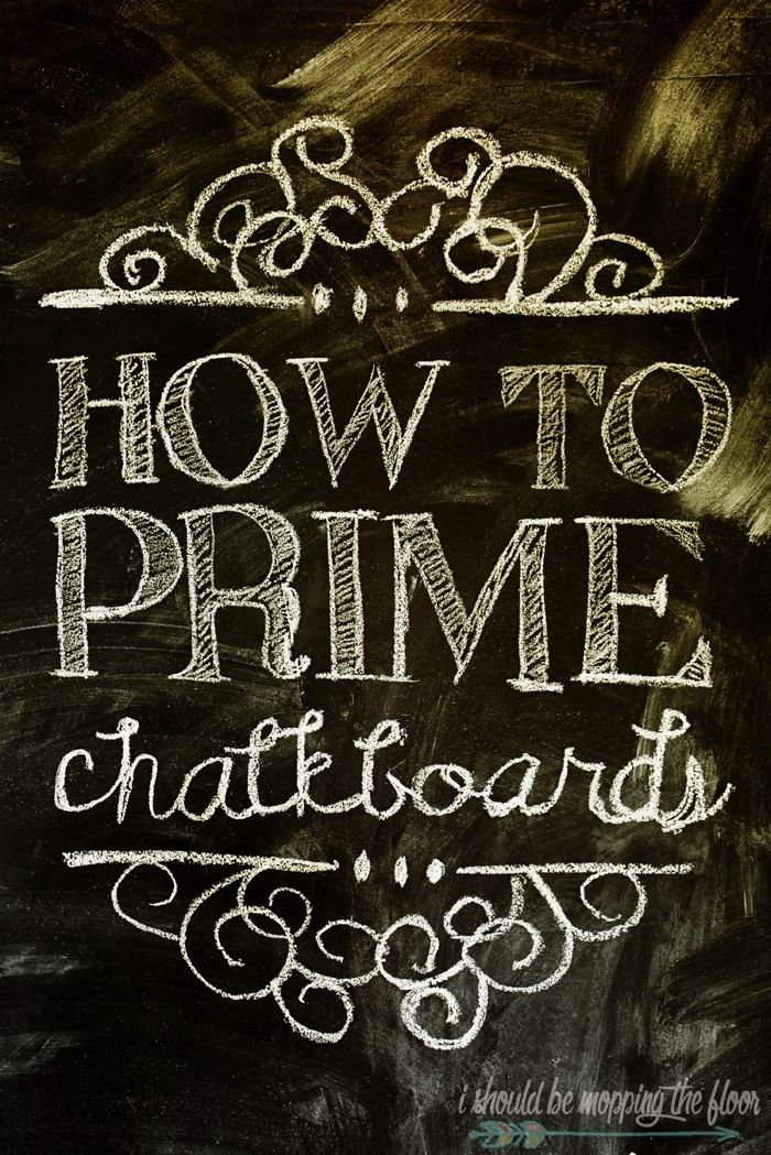 how to make your wall a chalkboard