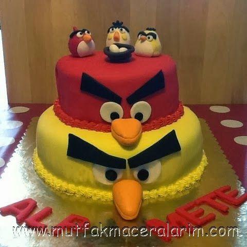 Mutfak Maceralarım: Angry Birds Cake