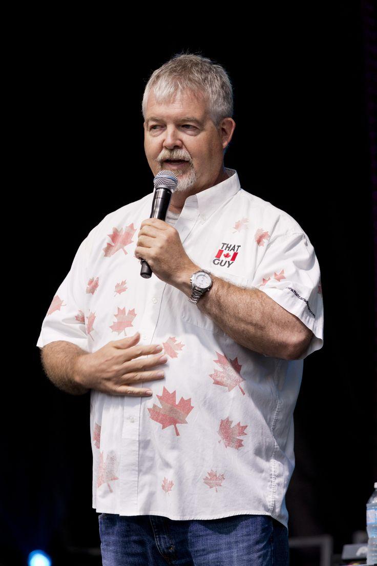 Glen Foster at the 2014 Canada's Walk of Fame #Festival - David Pecaut Square. barryroden.com